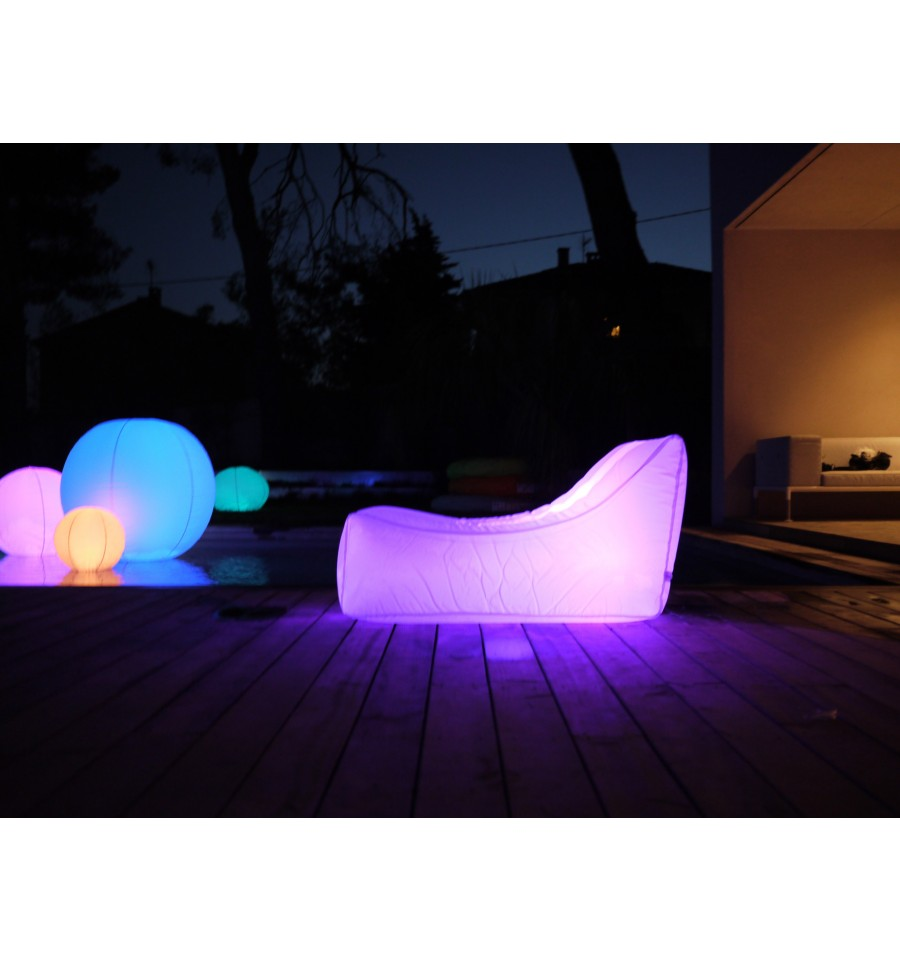 coussin gonflable nap loon air lumineux 20h 107122-lf - les jardins