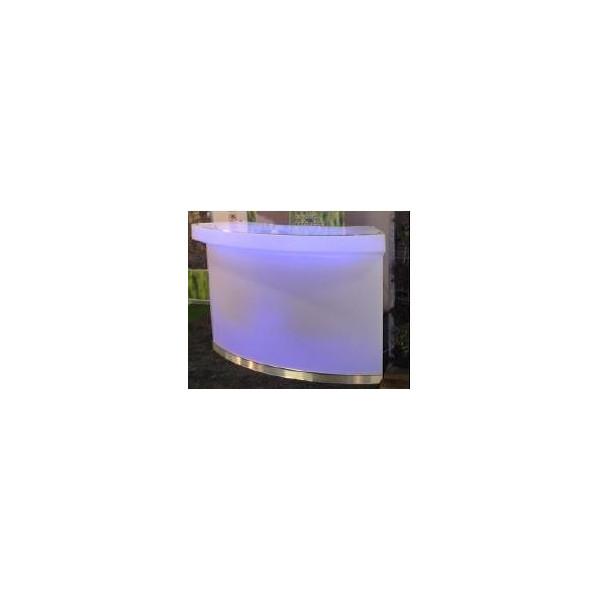 Comptoir lumineux Calipso avec éclairage 20h 107144-LF