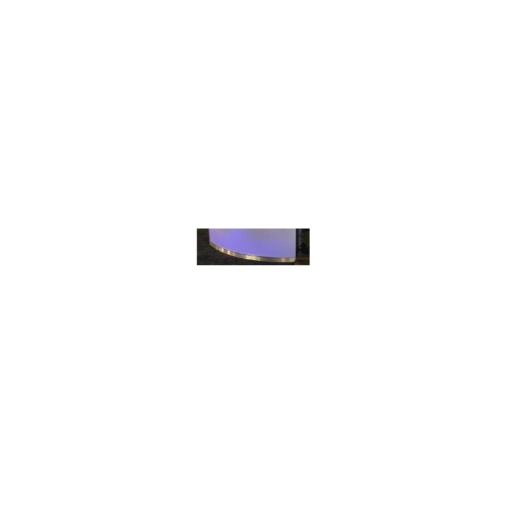 Plinthe aluminium Comptoir Calipso 107143-LF