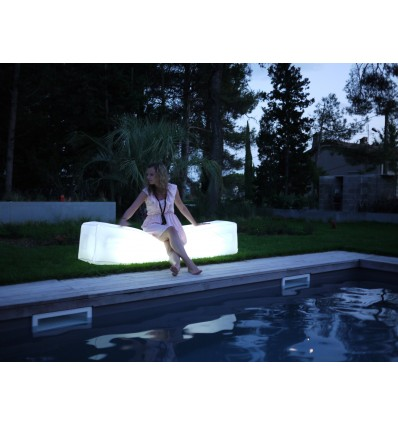 Banc gonflable Bench'Air lumineux 20h 107121-LF