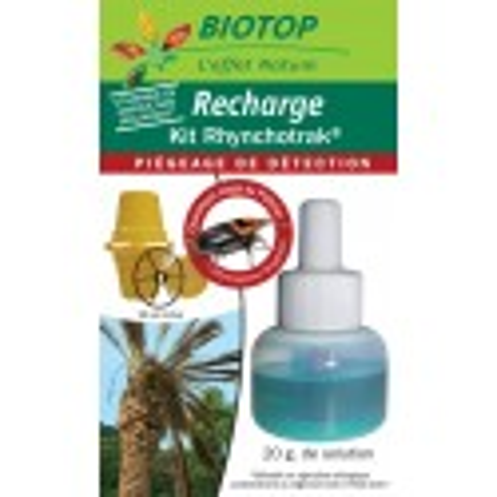 Recharge phéromone pour piège Rhynchotrak® contre le charançon rouge du palmier