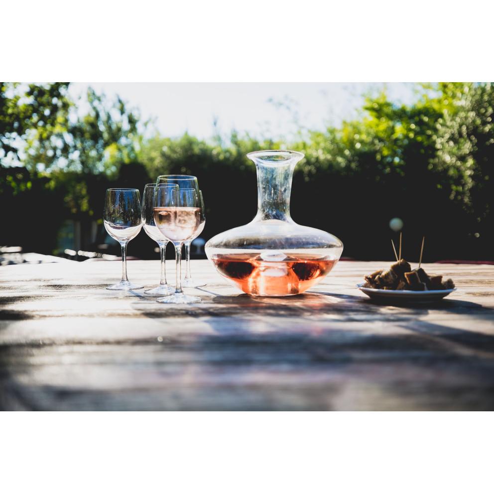 LOOP ICE Lampe/carafe/vase LOOP verre Translucide